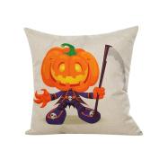 DKmagic Halloween Sofa Bed Home Decor Pillow Case Cushion Cover