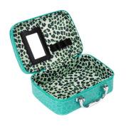 Kingko Professional Makeup Beauty Tool Storage Case New Fashion Makeup Storage Bag Case Jewellery Box Leather Travel Cosmetic Organiser Box