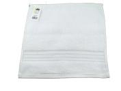 Luxury Spa Collection 100% Cotton White Washcloth