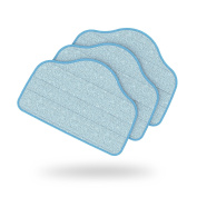 Ultra-Absorbent Microfiber Replacement Mop Pads for PureClean XL Rolling Steam Cleaner – 3 Pack