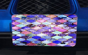 Mosaic Shields Tiles Inset Pictures Printed Design Aluminium Licence Plate for Car Truck Vehicles