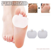 Pedimend Medical Silica Gel FOREFOOT PAD & TOE SEPRATOR (PAIR) - FOOT Care Metatarsal / Hard Skin / Morton's Neuroma -  .   - Relax Pressure Points - Foot Impact Cushion - Soft Orthotic fore foot Insole
