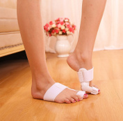 1 Pair of Hallux Valgus Splint with Joint for Hallux Valgus Prevention, Therapy, with flexible for Day and Night Bunion Splint