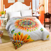 Cotton twill double quilt cover/ one piece cartoon cover/comfortable quilt cover -E 160x210cm