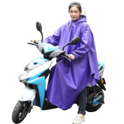 Raincoat male and female motorcycleband with sleeves poncho