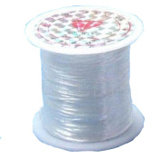 YOYOSTORE 0.5mm Cord Thread String Fish Line Strong Wire Roll Make DIY Scarf Tool 40m Long