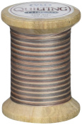 YLI 21104-V06 Variegated Cotton Hand Quilting Thread, 400 yd, Sticks and Stones