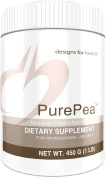 Designs for Health - PurePea Chocolate Vegan Non-GMO Protein, 450g., 15 Servings