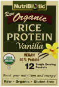 Nutribiotic Vegan Rice Protein Vanilla, 12/.1570ml Pkts