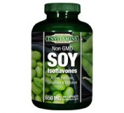 Soy Isoflavones 650 Mg With Daidzein & Genistein NON GMO- 180 Capsules