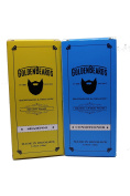Beard Shampoo and Conditioner Kit. The perfect combination for washing your beard 100ml + 100ml of Handmade Product especially made for your beard. MADE IN DENMARK