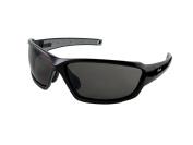 Kele by NYX G4 Sunglasses, Black/Grey Gloss Frame/Dark Grey Lens