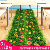 RUGAI-UE 3D stereo wall stickers stickers dorm room wall paper self-adhesive bedroom warm living room wallpaper,A