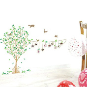 RUGAI-UE The living room bedroom photo stickers stickers stickers combination of natural wind, 60*90cm