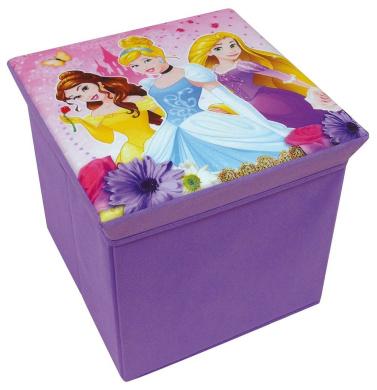 712374 Fun House Disney Princesses Stool with Storage