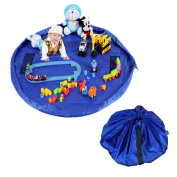 Waterproof Children Toy Mat Toy Storage Bag Kids Rug 150CM Diameter Large Foldable And Hanging Toy Organiser