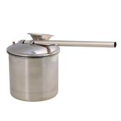 RDEXP 200ML Stainless Steel Paint Glaze Glazing Pot Spray Pottery Painting Sprayer Metal Atomizer