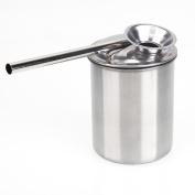 RDEXP 300ML Stainless Steel Paint Glaze Glazing Pot Spray Pottery Painting Sprayer Metal Atomizer