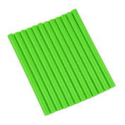 GlueSticksDirect Neon Green Coloured Glue Sticks mini X 10cm 12 Sticks