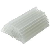 Yalulu 50Pcs Multi Transparent Temp Glue Gun Sticks Hot Melt Glue Stick 7 x 100 mm for DIY Craft Projects Repair Kit