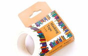 Lavenz Amazing Library Books Washi Tape DIY Scrapbooking Sticker Label Masking Tape School Office Supply