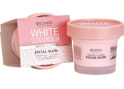 Scentio Facial Mask White Collagen Bright Firm Nourish Soft Younger Skin 100 ML