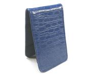 Sunfish Scorecard + Yardage Book Holder - Blue Croc