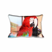 41cm x 60cm Pillow Protector Parrot Pillow Cover Home Decorative Kids Gift Pillow Cushion Cover