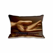 Wood Hand Pillow Covers Protector Two Sides Standard Zippered Pillowcase Pillow Sham 16x24inche for kids New Year Gift