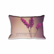 Cute Flowers Pillowcase 41cm x 60cm inch Two Sides Comfortable Zippered Pillow Cover Cases for Kids Family Gift