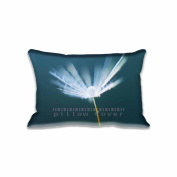 Flake Of Dandelion Flying Pillow Covers Protector Two Sides Standard Zippered Pillowcase Pillow Sham 16x24inche for kids New Year Gift