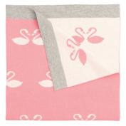 Elegant Baby Swan Blanket, 80cm x 100cm