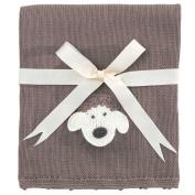 Elegant Baby Lamb Crochet Blanket