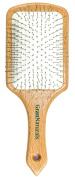 GranNaturals Metal Pin Bristle Wooden Paddle Hair Brush