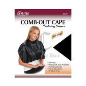 Annie Comb-Out Cape Tie-String Closure #3917
