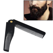 FTXJ Hairdressing Portable Folding Beard Hair Comb Men's Beauty Tools