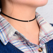 Leiothrix Fashion Chocker Neckless with Silver Bead for Women and Girls Apply to Weeding Party Casual