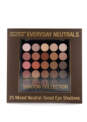 City Colour Everyday Neutrals 25 Eye Shadow Collection Palette