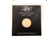 Pure Anada Pressed Powder Mineral Eye Shadow Whisper Starlight White