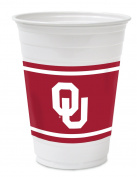 Hefty College Cups, Oklahoma Sooners, 530ml, 84 Cups