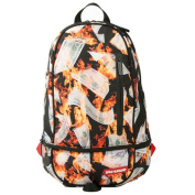 Sprayground Floating Fire Money Backpack