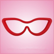 Cat Eye Glasses Cookie Cutter 2.5cm - 1.9cm tall, 13cm - 1.3cm wide