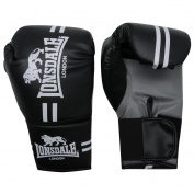 Lonsdale Contender Gloves Boxing Kick MMA Hand Wraps Mitts Fight Training