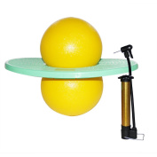 Pogo Ball with Large Pump- GreenMoon Lolo Ball with Gift Bag and Instruction