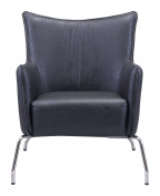 OSTANI BLACK OCCASIONAL CHAIR
