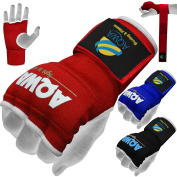 AQWA Training Boxing Inner Gloves Hand Wraps MMA Fist Protector Bandages Mitts