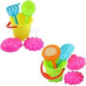 JUA PORROR Outdoor Toys Tools Bucket Set Tiny Beach Sand Toys For Toddler Kids Children