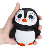 Vibola 2017 New Arrival Jumbo Squishy Penguin Kawaii Cute Animal Slow Rising Sweet Scented Vent Charms Kid Toy Doll Gift Fun