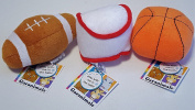Garanimals Plush Terry Sports Ball Set