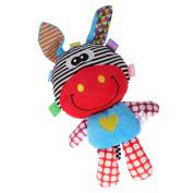 MonkeyJack Cartoon Animal Plush Toy Soft Appease Doll Developmental Baby Toy for Infant - Giraffe, Width